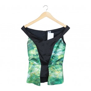 Vone Multi Colour Abstract Sleeveless