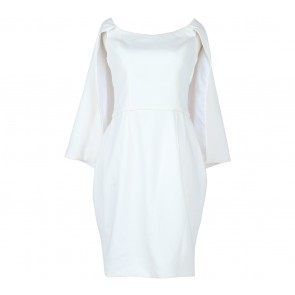 Vone Off White Midi Dress