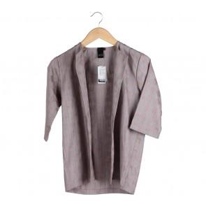Anokhi Grey And Orange Outerwear