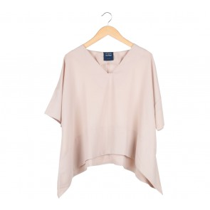 Cotton Ink Cream Loose Blouse