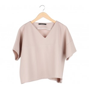 Shop At Velvet Cream Loose Blouse