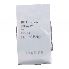 Laneige  No. 21 Natural Beige BB Cushion SPF 50+ PA+++ (Refill) Faces