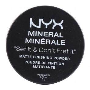 NYX  Light / Medium Mineral Matte Finishing Powder Faces