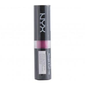 NYX  Matte Lipstick Shocking Pink Lips
