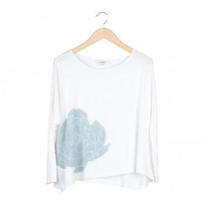 Impromptu Off White Loose T-Shirt