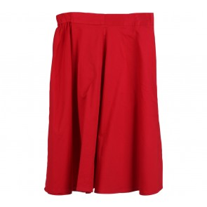 Cotton Ink Red Skirt