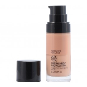 The Body Shop  032 Yorkshire Rose Fresh Nude Foundation Faces