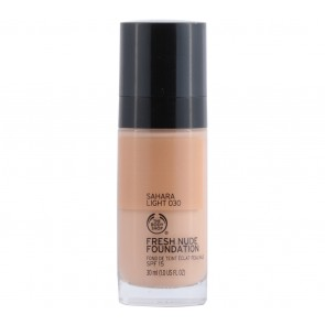 The Body Shop  Sahara Light 030 Fresh Nude Foundation Faces