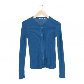 UNIQLO   Blue Cardigan