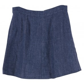 Zara Blue Jeans Mini Skirt