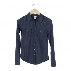 Levi´s Blue Polka Dot Shirt