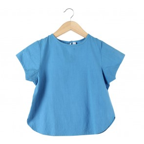 Beatrice Clothing Blue Blouse