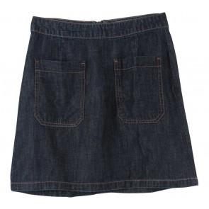 Stradivarius Dark Blue Pocket Skirt
