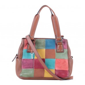 Fossil Multi Colour Colorblock Sling Bag