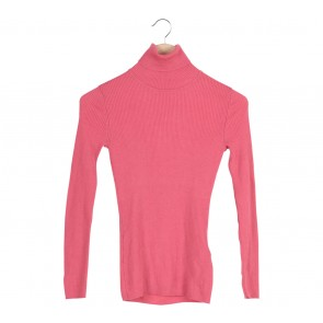 UNIQLO   Pink Turtle Neck Blouse