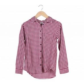 UNIQLO Red Tartan Shirt