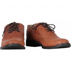 Staccato Brown Oxford Boots