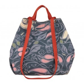 Tulisan Multi Colour Patterned Handbag
