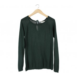 Springfield Green Back Tied Blouse