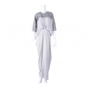 Luminara Grey Shirka Long Dress