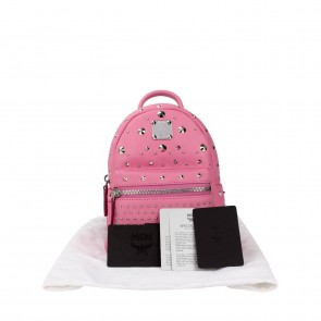 MCM Pink Backpack