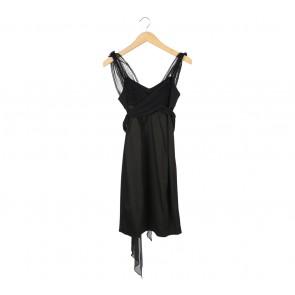 BCBG Maxazria Black Sleeveless Mini Dress