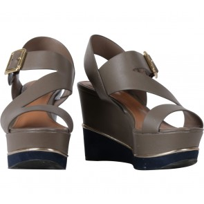 Charles and Keith Grey Wedges