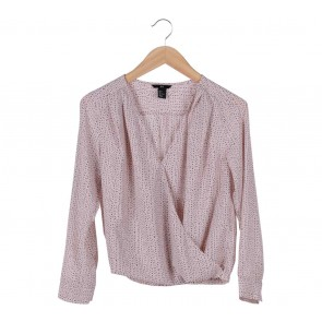 H&M Pink Paterned Blouse