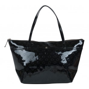 Kate Spade Black Polka Dot Tote Bag