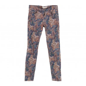 Zara Multi Colour Floral Pants