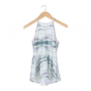 Multi Colour Patterned Mini Dress