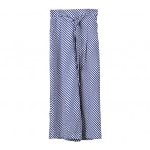 Zara Blue Patterned Pants