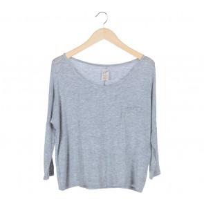 Zara Grey Pocket T-Shirt