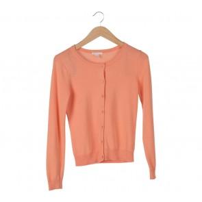 H&M Orange Cardigan