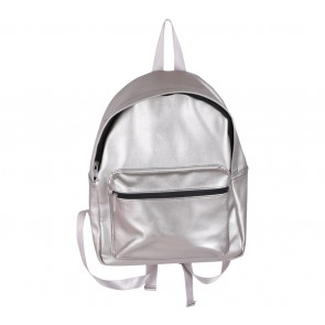 Stradivarius Silver Backpack