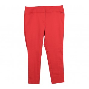 Ann Taylor Red Julie Skinny Pants