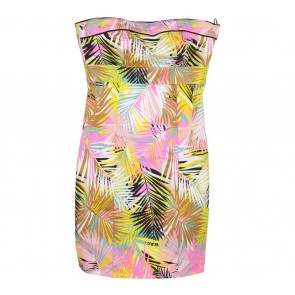 H&M Multi Colour Tube Mini Dress