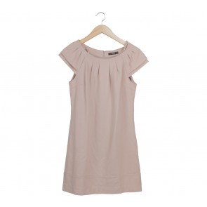 Oasis Cream Cap Sleeve Mini Dress
