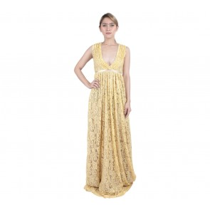 Marga Alam Yellow Long Dress