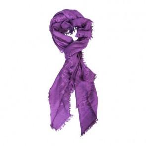 Louis Vuitton Purple Scarf