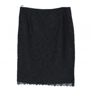 Mango Black Lace Skirt