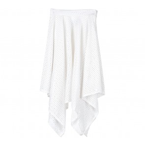 H&M Off White Asymetric Skirt