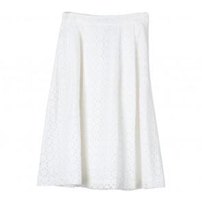 Zara White Skirt