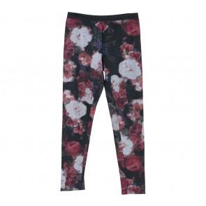 Zara Black Floral Legging Pants