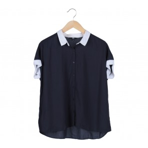 UNIQLO Blue Blouse