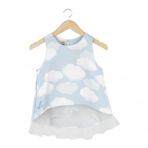 Label Eight Light Blue Sleeveless