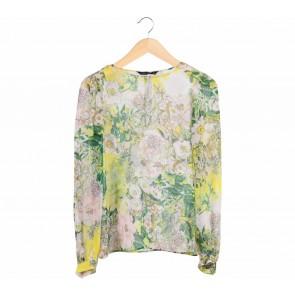 Zara Multi Colour Floral Blouse