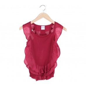 Valentino Red Blouse
