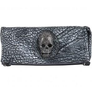 Thomas Wylde Silver Skull Clutch