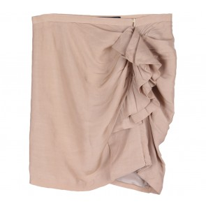 Zara Cream Ruffle Skirt